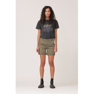 Karmey Chino Shorts - Dusty Army