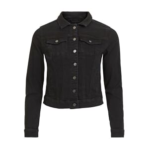 Vishow Denim Jacket Black