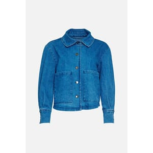 Viksa Jacket Short - Light Denim