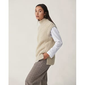 Alexandra Pants Gray Check