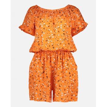 ab7f9073 Elin Pattsy Jumsuit Orange