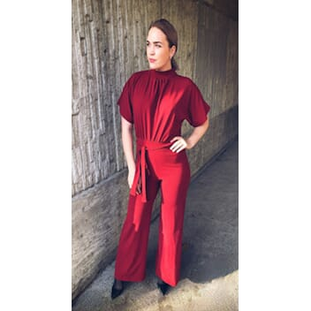 Girl Jumpsuit Ruby