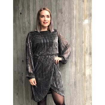 Viabbigail Silver Dress