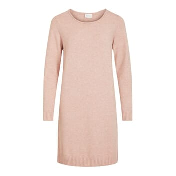 Viril Knit Dress Misty Rose