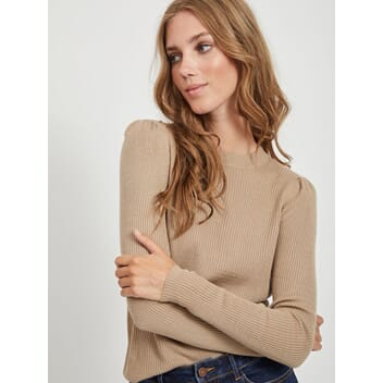 Vipopsa Knit Crew Simply Taupe