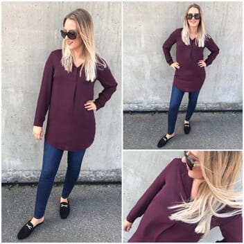 Vilucy Tunic Winetasting