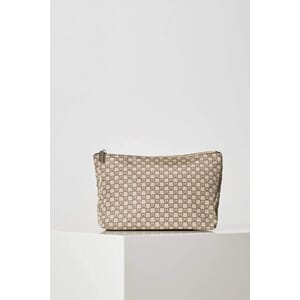 Travel IW Toiletry Pouch Beige/Black